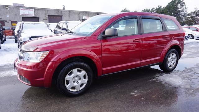 2010 Dodge Journey SE CERTIFIED 2YR WARRANTY *1 OWNER*FREE ACCIDENT* BLUETOOTH AUX KEYLESS