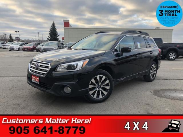 2017 Subaru Outback 2.5i Limited with optional Technology Package  TECH-PKG