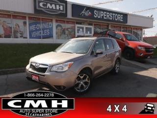 Used 2016 Subaru Forester 2.5i LIMITED W/TECH  TECH-PKG NAV ROOF LEATH for sale in St. Catharines, ON