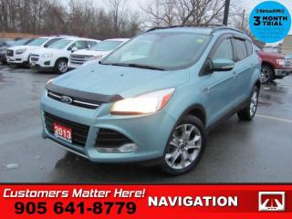 Used 2013 Ford Escape SEL  NAV LEATH ROOF P/GATE P/SEAT HS for sale in St. Catharines, ON