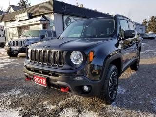 Used 2016 Jeep Renegade Trailhawk for sale in Bloomingdale, ON