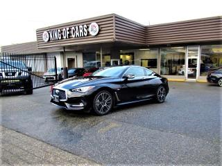 Used 2018 Infiniti Q60 Q60S 3.0t SPORT for sale in Langley, BC