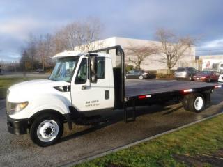Used 2016 International TerraStar Flat Deck 18 Foot Diesel for sale in Burnaby, BC