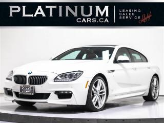 Used 2015 BMW 6 Series 640i GRAN COUPE, NAV, M-SPORT, PREMIUM for sale in Toronto, ON