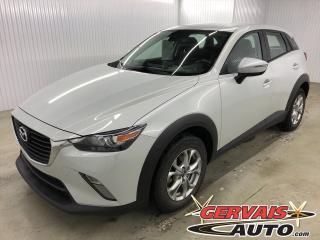 Used 2018 Mazda CX-3 GS MAGS SIÈGES/VOLANT CHAUFFANTS CAMÉRA DE RECUL for sale in Trois-Rivières, QC