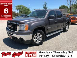 Used 2010 GMC Sierra 1500 SLE | Z71 4WD Crew | Tow Pkg | BackRack for sale in St Catharines, ON
