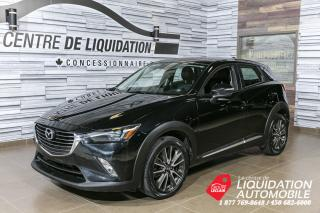 Used 2016 Mazda CX-3 GT+TOIT+MAGS+CUIR+AWD for sale in Laval, QC