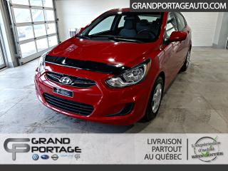 Used 2014 Hyundai Accent Berline 4 portes, boîte automatique, GL for sale in Rivière-Du-Loup, QC