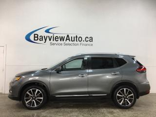 Used 2018 Nissan Rogue SL - AWD! HTD LEATHER! PANOROOF! NAV! PWR LIFTGATE! + MUCH MORE! for sale in Belleville, ON