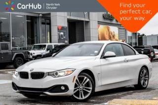 Used 2016 BMW 4 Series 428i xDrive Cabriolet Navi Backup_Cam Sat.Radio Heat.Frnt.Seats KeyLess  for sale in Thornhill, ON