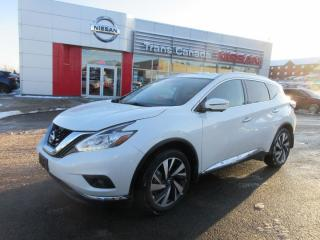Used 2018 Nissan Murano Platinum AWD for sale in Peterborough, ON