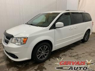 Used 2016 Dodge Grand Caravan SXT Premium Plus Cuir/Tissus MAGS Caméra 7 Pass *Bas Kilométrage* for sale in Shawinigan, QC