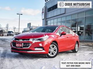 Used 2016 Chevrolet Cruze for sale in Mississauga, ON
