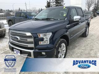 Used 2015 Ford F-150 Platinum Adaptive Cruise Control - Leather Bucket Heated/Cooled Front Seats for sale in Calgary, AB