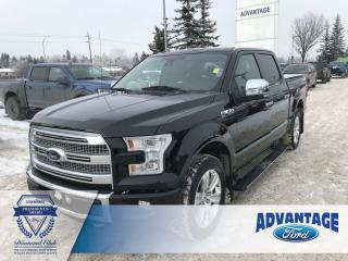 Used 2016 Ford F-150 Platinum Leather Bucket Seats - Remote Start for sale in Calgary, AB