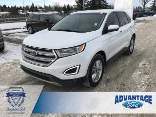 Used 2016 Ford Edge SEL Voice-Activated Navigation - Heated Steering Wheel for sale in Calgary, AB