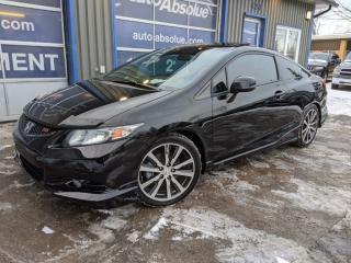 Used 2013 Honda Civic Si + hfp + camÉra + navi for sale in Boisbriand, QC