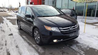 Used 2015 Honda Odyssey Touring w/RES & Navi for sale in Quebec, QC
