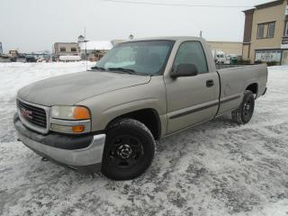 Used 2002 GMC Sierra 1500 Cabine classique, empattement de 133 po for sale in Mirabel, QC