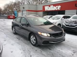 Used 2015 Honda Civic EX Sedan Sunroof Low KMS for sale in Ottawa, ON