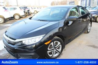 Used 2016 Honda Civic LX **CAMERA** FINANCEMENT FACILE !! for sale in Laval, QC
