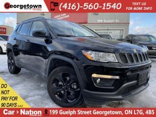 Used 2019 Jeep Compass Altitude 4x4 | CLEAN CARFAX | LEATHER |BUCAM|BEATS for sale in Georgetown, ON