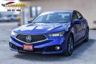 Used 2018 Acura TLX Tech A-Spec A SPEC||NAVI||REVERSE CAM|| SUNROOF!! for sale in Bolton, ON
