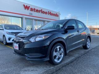 Used 2017 Honda HR-V LX One Owner Certified HRV With Certified Powertrain Warranty Until 160,000KM or 03/06/2024! for sale in Waterloo, ON
