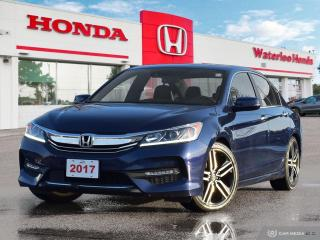 Used 2017 Honda Accord One Owner, Accident Free Accord Sport! Has Honda Certified Powertrain Warranty Until 160,000KM or 03 for sale in Waterloo, ON