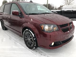 Used 2019 Dodge Grand Caravan GT Loaded! Heated Steering, Heated Leather, BackupCam, AutoStart, Bluetooth, Pwr Sliding Doors, Pwr Sea for sale in Kemptville, ON