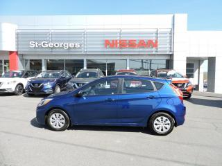 Used 2015 Hyundai Accent Voiture à hayon, 5 portes, boîte manuell for sale in St-Georges, QC