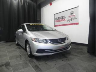 Used 2014 Honda Civic LX ECONOMIQUE !!! for sale in St-Eustache, QC