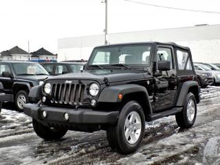 Used 2017 Jeep Wrangler SPORT for sale in Brossard, QC