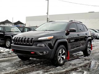 Used 2015 Jeep Cherokee TRAILHAWK 4X4 *V6*CUIR*GPS*HITCH* for sale in Brossard, QC