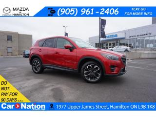Used 2016 Mazda CX-5 GT | LEATHER | SUNROOF | NAV | REAR CAM | BOSE for sale in Hamilton, ON