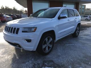 Used 2014 Jeep Grand Cherokee Overland for sale in Chicoutimi, QC