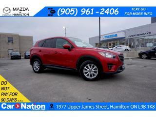 Used 2016 Mazda CX-5 GS | NAV | SUNROOF | HEATED SEATS | BLUETOOTH |AWD for sale in Hamilton, ON