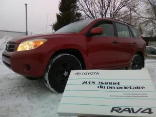 Used 2008 Toyota RAV4 4WD 4dr I4 Base for sale in Longueuil, QC