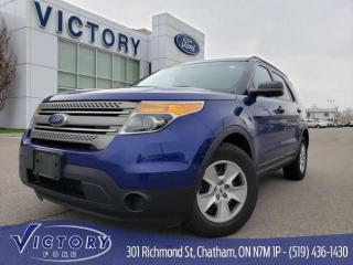 Used 2014 Ford Explorer Base, Bluetooth, Auto Headlights for sale in Chatham, ON