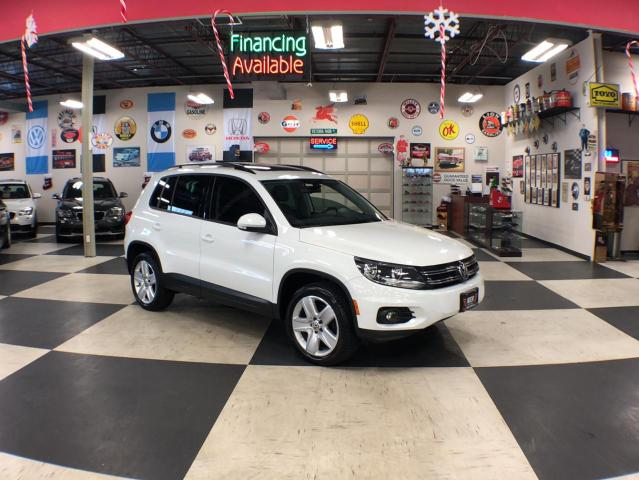 2016 Volkswagen Tiguan 2.0TSI COMFORTLINE SPORT NAVI AWD LEATHER PANO/ROOF CAMERA