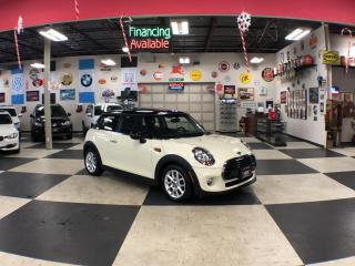Used 2016 MINI Cooper Hardtop COOPER AUTOMATIC A/C LEATHER PANO/ROOF 54K for sale in North York, ON