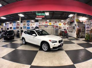 Used 2015 BMW X1 XDRIVE AUT0 AWD LEATHER PANO/ROOF BLUETOOTH 55K for sale in North York, ON
