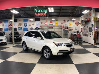 Used 2013 Acura MDX SH-AWD TECH PKG 7 PASS NAVI LEATHER SUNROOF CAMERA for sale in North York, ON
