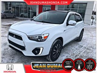 Used 2015 Mitsubishi RVR traction intégrale 4 portes CVT GT for sale in St-Félicien, QC