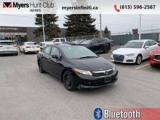 Used 2012 Honda Civic Sedan LX  - Bluetooth -  A/C for sale in Ottawa, ON