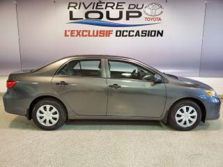 Used 2013 Toyota Corolla for sale in Rivière-Du-Loup, QC