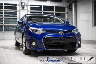 Used 2016 Toyota Corolla S chez Rimouski Hyuindai for sale in Rimouski, QC