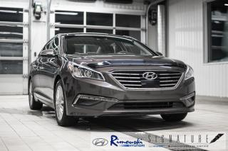 Used 2015 Hyundai Sonata 2.4L Limited chez Rimouski Hyundai for sale in Rimouski, QC