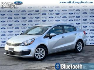 Used 2016 Kia Rio LX+  - Bluetooth -  Heated Seats for sale in Welland, ON