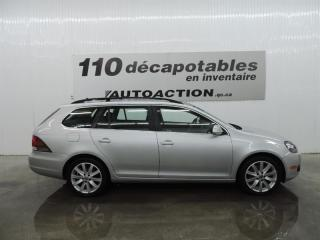 Used 2013 Volkswagen Golf Wagon Highline TDI  - MANUEL - TOIT PANO - CUIR for sale in St-François-Du-Lac, QC